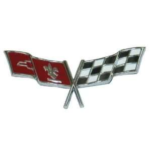 1977 and 1979 Corvette Front Emblem: Automotive