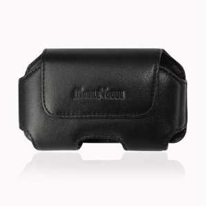 High Quality Genuine Leather Pouch Protective Carrying Cell Phone
