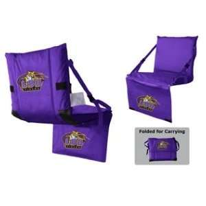LSU Tigers Tri Fold Stadium Seat:  Sports & Outdoors