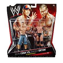 WWE Series 8 Action Figure 2 Pack   John Cena vs. Randy Orton