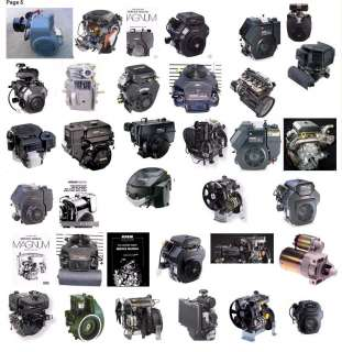 ALL Kohler Small Engines Shop Service Repair Operators Owners Manuals