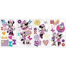 Roommates Mickey & Friends Minnie Mouse Bow tique Peel & Stick Wall