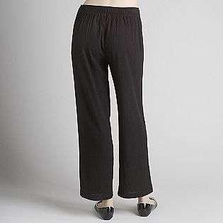 Womens Pull On Pants   Petite  Sag Harbor Clothing Petite Pants