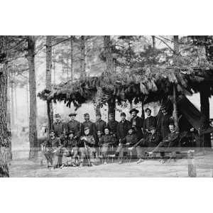 1864 American Civil War Union Soldiers [8 x 12 Photograph