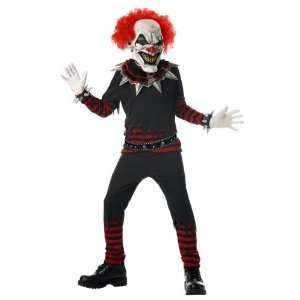Lets Party By California Costumes Evil Clown Child Costume