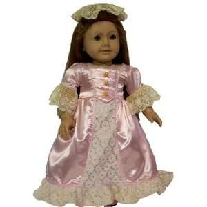 com Doll Clothes for American Girl ® 18 inch Dolls, Colonial Formal