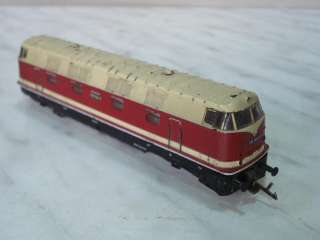 ANTIQUE GERMAN TOY TRAIN DIESEL LOCOMOTIVE