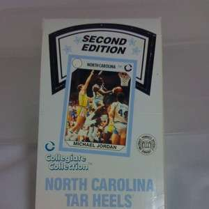 North Carolina Collegiate Collection Packs Michael Jordan