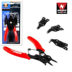 Neiko 4 pcs Snap Ring Plier Set