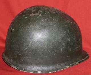 WWII WW2 US M1 Military Army Combat Steel Helmet