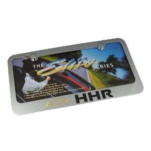 Chevy HHR Chrome Brass License Plate Frame Automotive