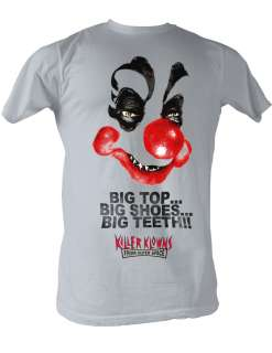 KILLER KLOWNS FROM OUTER SPACE BIG TOP ADULT TEE SHIRT