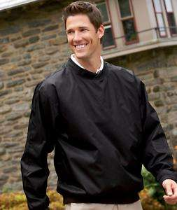PULLOVER ULTRA CLUB MENS L/S GOLF WINDSHIRT SMALL to XL   Price