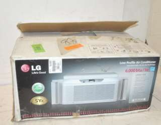 6000 BTU LOW PROFILE ENERGY STAR WINDOW AIR CONDITIONER NEW
