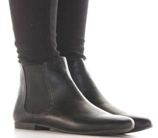Ladies Flat Low Heel Pixie Vintage Retro Chelsea Style Winter Ankle