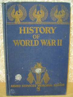 of World War II Illustrated Armed Services Memorial Edition Miller