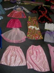 HUGE LOT GIRLS DRESS UP DISNEY PRINCESS ACCESSORIES PLAY PRETEND