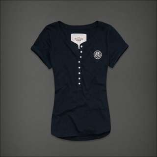 2012 NEW Abercrombie & Fitch by Hollister womens Gillan Classic Tee T