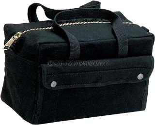 Bottom Brass Zipper Black Military Mechanic Equipment Tool Bag