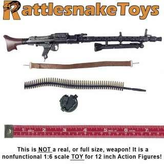 MG34 Gunner   MG34 Machine Gun Set  1/6 Scale   Toys City |