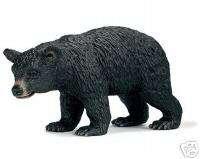 BLACK BEAR FEMALE Wild Life SCHLEICH 14316