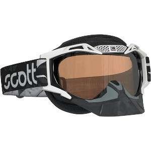 SCOTT VOLTAGE PRO AIR SNOW SNOWMOBILE MX GOGGLES BLACK