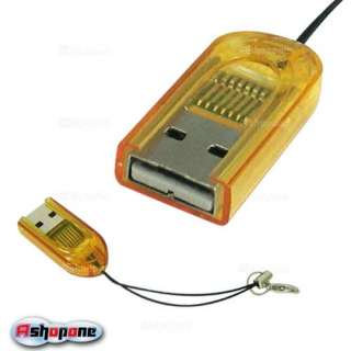 Mini USB 2.0 Micro SD TF TF FLASH Memory Card Reader