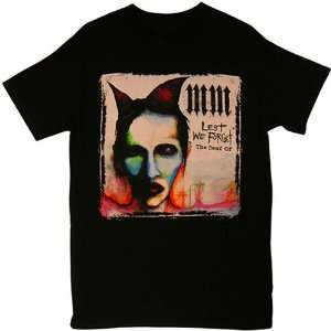 Marilyn Manson   Lest We Forget T shirt