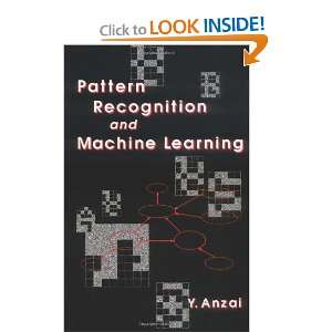 Recognition & Machine Learning (9780120588305): Y. Anzai: Books