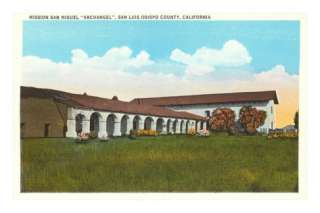 San Miguel Archangel Mission, California Posters at AllPosters