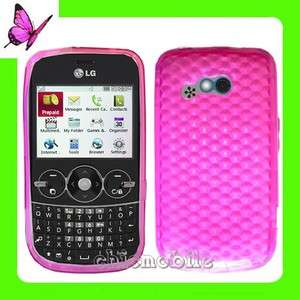 HT PINK TPU Gel Case Cover NET 10 Straight Talk LG 900G