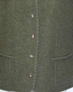GEIGER BOILED WOOL Winter SWEATER Jacket Coat 48 10 M