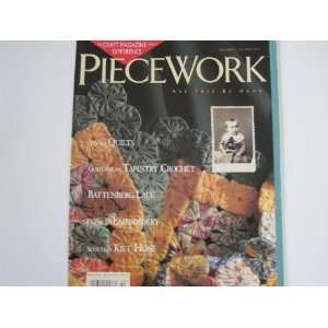 Piecework Magazine September/October 1995 Volume III Number 5 Books