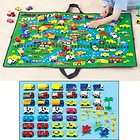 Playtown Home Town Road Map Mat Kids for Cars / Trucks