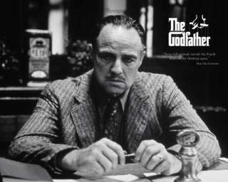 Marlon Brand The Godfather Family Movie Quote Poster