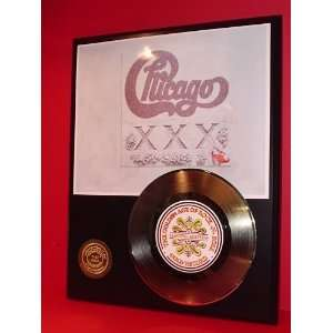 CHICAGO GOLD RECORD LIMITED EDITION DISPLAY Everything