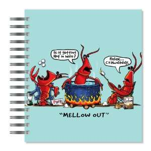 Mellow Out Crawdad Picture Photo Album, 18 Pages, Holds 72 Photos