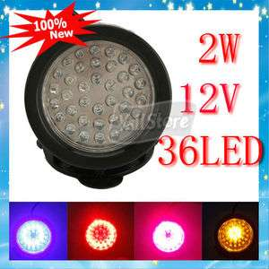 New Underwater LED Light 36 LED 2W for Pool Aquarium Fountain Multi