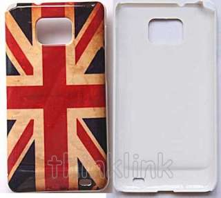 retro old UK union jack flag Hard Back Case Cover For SAMSUNG GALAXY
