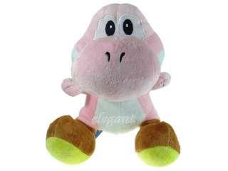 Nintendo Super Mario Brothers Pink Yoshi 12 Plush Doll