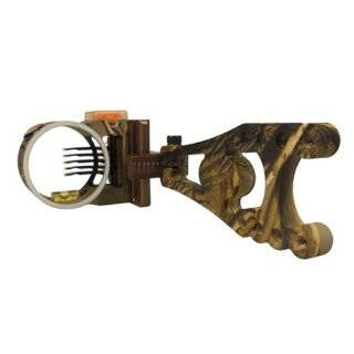 Right Hand Flash Point Redzone HD 5 Pin Bow Sight: Sports & Outdoors