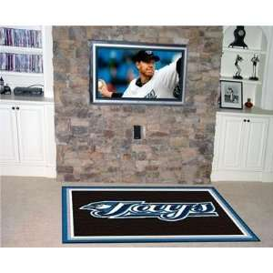 Exclusive By FANMATS MLB   Toronto Blue Jays 5 x 8 Rug