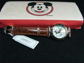 DISNEY TIME WORKS MICKEY MOUSE WATCH NIB