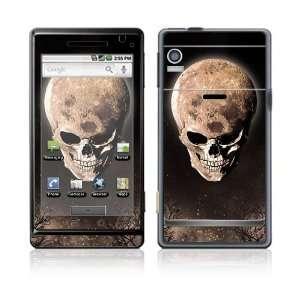 Motorola Droid Decal Skin   Bad Moon Rising Everything
