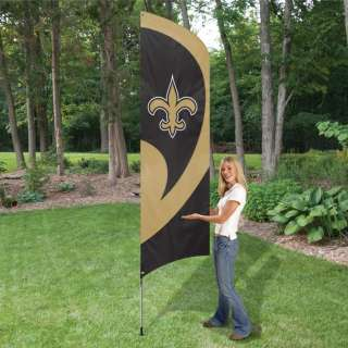 New Orleans Saints NFL Embroidered 8.5 Tall Team Flag