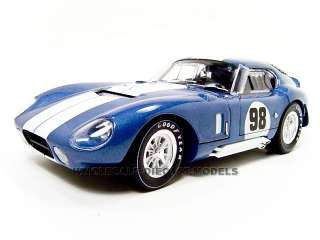 COBRA DAYTONA COUPE BLUE #98 118 BY SHELBY COLLECTIBLES 130