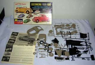 Monogram Customizing 1936 Ford Model kit #PC68 198