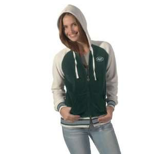 by Alyssa Milano New York Jets Ladies Redzone Burnout Long Sleeve ...