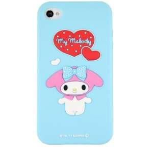 Hello Kitty Silicon Case Cover for Apple Iphone 4 4gs Blue My Melody