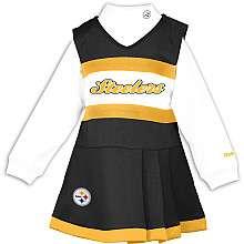 Reebok Pittsburgh Steelers Girls (7 16) Cheer Uniform